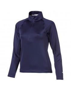 PUMA GIRLS 1/4 ZIP - JERSEI JUNIOR 2019