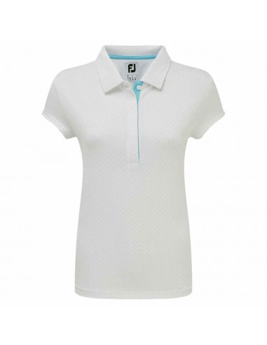 FOOTJOY SMOOTH PIQUE WITH PIN DOT - POLO MUJER 2019