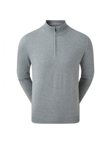 FOOTJOY WOOL BLEND LINED 1/2 ZIP - JERSEI HOMBRE
