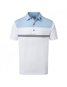 FOOTJOY HEATHER COLOUR BLOCK LISLE - POLO HOME