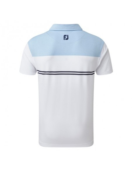 FOOTJOY HEATHER COLOUR BLOCK LISLE - POLO HOMBRE