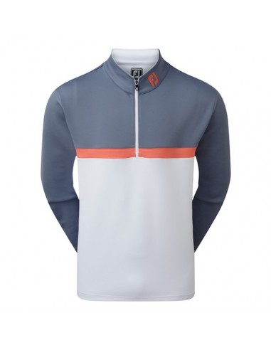 FOOTJOY 1/4 ZIP COLOUR BLOCKED CHILL OUT - JERSEI HOME
