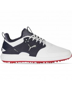 PUMA IGNITE POWER ADAPT CAGED WHITE/NAVY - ZAPATO HOMBRE