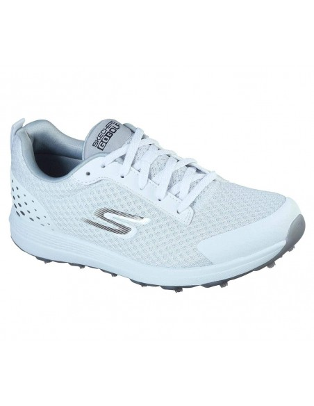 GOLF SHOES - SKECHERS MAX FAIRWAY 2 WHITE/SILVER