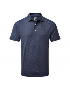 FOOTJOY SMOOTH PIQUE PRINT...