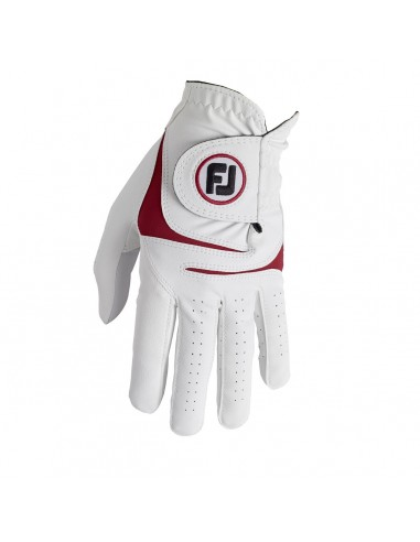 FOOTJOY WEATHERSOF WHITE / RED -...