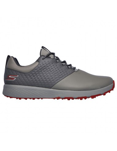 SKECHERS ELITE 4 CHARCORAL / RED -...