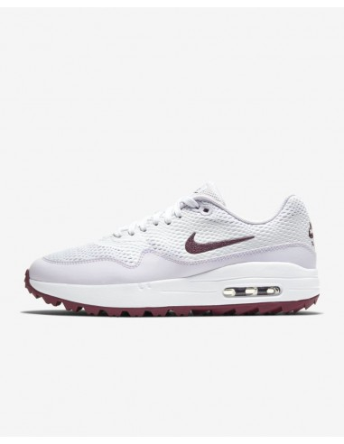 NIKE AIR MAX 1G WHITE / PURPLE -...