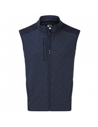 FOOTJOY TECH QUILTED VEST NAVY -...