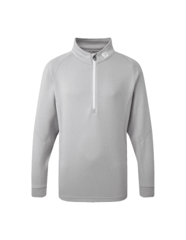 FOOTJOY JUNIOR CHILLOUT PULLOVER H.GRY