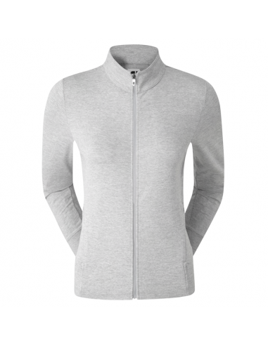 FOOTJOY FULL ZIP KNIT M-LAYER GREY -...