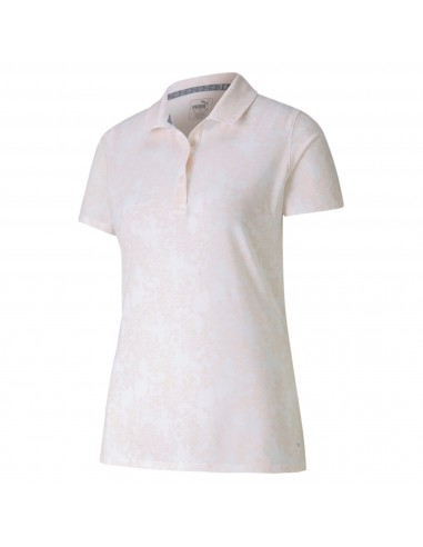 PUMA W ROSES POLO PINK - POLO MUJER