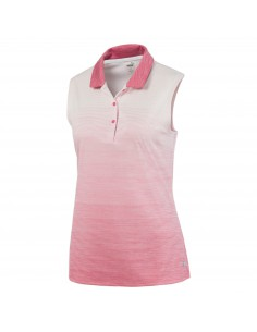PUMA OMBRE SLEEVELESS POLO...