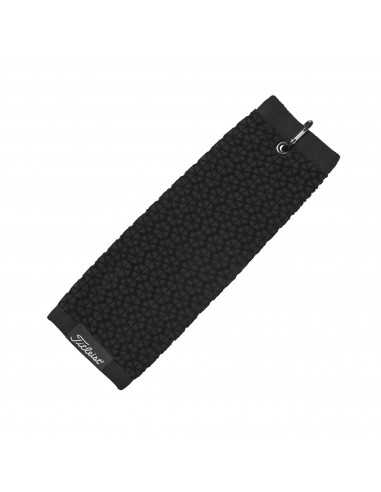 TITLEIST TRIFOLD TOWEL BLACK - TOALLA...