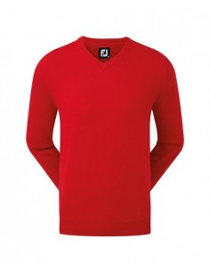 FOOTJOY WOOL BLEND V-NECK...