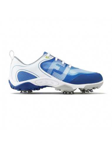 FOOTJOY JUNIOR WHITE/BLUE - ZAPATO...