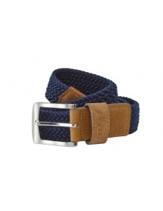 FOOTJOY BRAIDED BELT NAVY -...