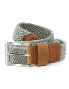 FOOTJOY BRAIDED BELT GREY -...