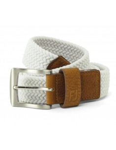 FOOTJOY BRAIDED BELT WHITE...
