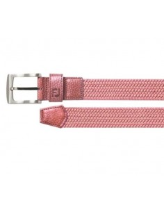 FOOTJOY BRAIDED BELT PINK -...