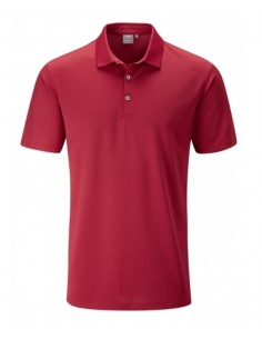 PING LINCOLN POLO SHIRT RED...
