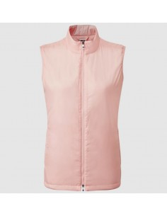 FOOTJOY FULL ZIP VEST PINK...