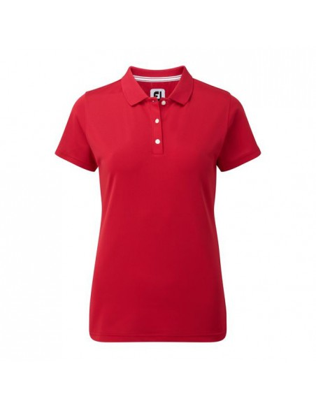 FOOTJOY STRETCH PIQUE SOLID - POLO MUJER