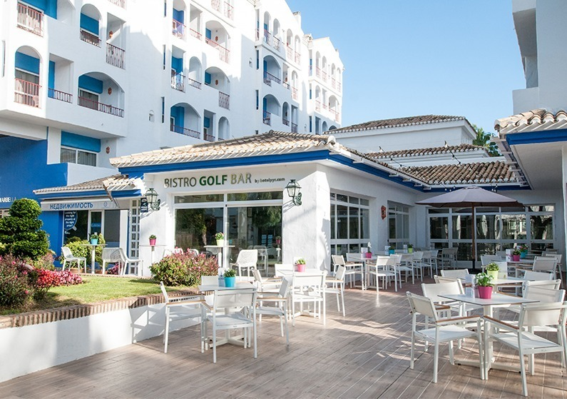 Hotel golf bar marbella