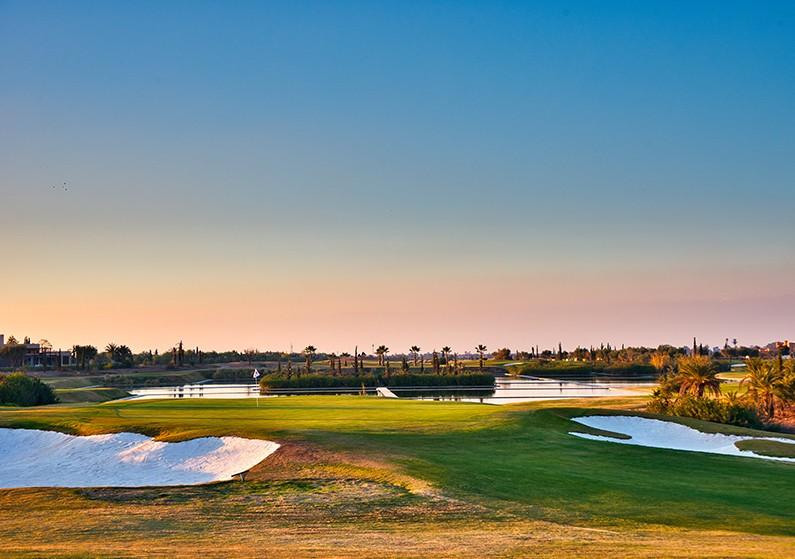 Campo de golf Marruecos